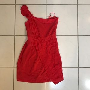 BCBG reddish/coral mini dress